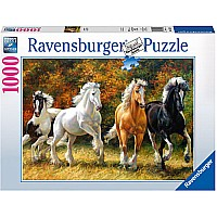 Galloping Horses - 1000 Piece Puzzle