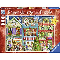 Christmas On Pet Street (1000 PC Puzzle)