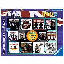 Beatles Albums 1964-66 - 1000 Piece