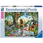 1000 piece Adventures in the Jungle