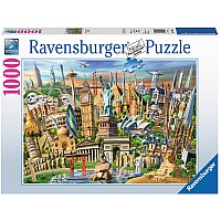 Ravensburger 1000 Piece Puzzle World Landmarks