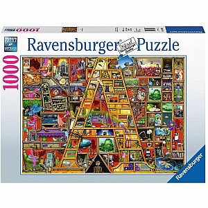 "Awesome Alphabet ""A"" 1000 Pc Puzzle"