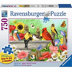 750pc Puzzle - Bathing Birds