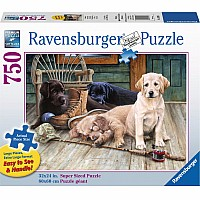 Ravensburger 750 Piece Large Format Puzzle Ruff Day
