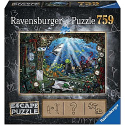 759pc Escape Puzzle - Submarine