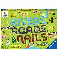 Rivers Roads & Rails Game