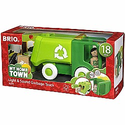 BRIO Light & Sound Garbage Truck