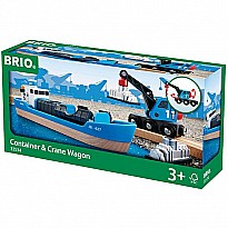 Freight Ship and Crane