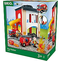 Brio Fire Station Set