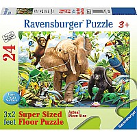 24 pc Jungle Juniors Floor Puzzle