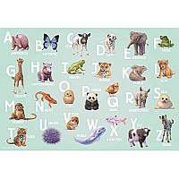 Ravensburger Animal Alphabet Floor Puzzle