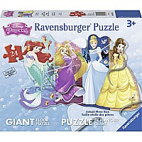 Pretty Princesses (24 PC Shaped Floor Puzzle)