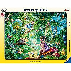 40pc Puzzle - Fairy Magic Frame Puzzle