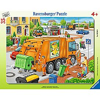35 pc. Frame Puzzle - Waste Collection