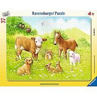 37 pc. Frame Puzzle - In the Pasture