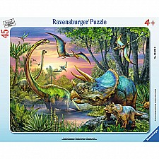 Dinosaurs at Dawn (45 pc)