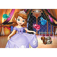 Sophia the First: Princess Sofia (2 x 12 pc Puzzles)
