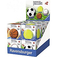 3D Sportsballs Assorted (54 pc) Ravensburger
