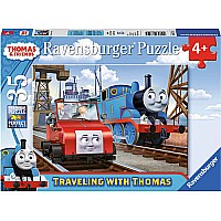 Traveling with Thomas (35 pc Puzzle)
