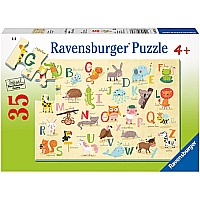 0035 Piece Puzzle A-Z Animals
