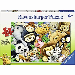 35pc Puzzle - Softies