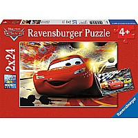 Cars Grand Entrance (2 x 24 pc Puzzles )