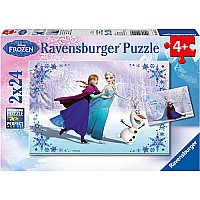 2 x 24 pc Sisters Always Puzzles