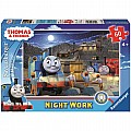 Night Work (60pc Glow-in-the-Dark Puzzle)