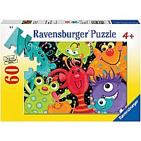 0060 Piece Puzzle Monster Buddies