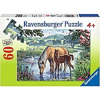0060 Piece Puzzle Mother and Foal