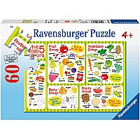 0060 Piece Puzzle Good Food