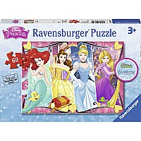 60 pc Heartsong Glitter Puzzle