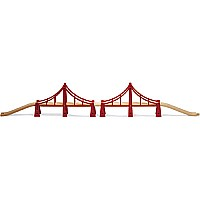 BRIO Double Suspension Bridge