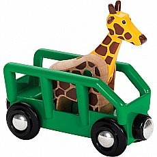 BRIO Safari Wagon & Animal