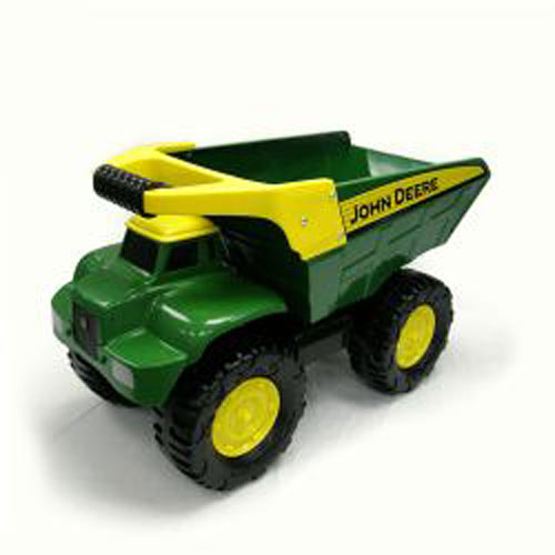 Large John Deere Big Scoop Dump Truck Toy Sense