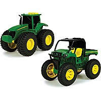 John Deere Monster Treads Lights Sounds Vehicle Asst