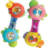 Learning Curve Baby Shakin Shell Rattle Assortment