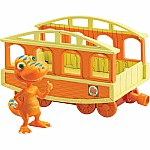 Dinosaur Train Buddy with Train Car Collectible Figure