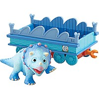 Learning Curve Dinosaur Train Tank with Train Car Collectible Fi