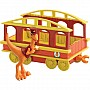 Dinosaur Train Conductor with Train Car Collectible Figure