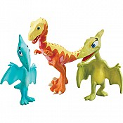 Dinosaur Train Mrs. P Shiny Derek Collectible 3-Pack