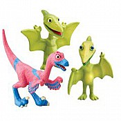 Dinosaur Train Mr. P Don Val Collectible 3-Pack