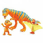 Dinosaur Train Boris Annie PETE Collectible 3-Pack