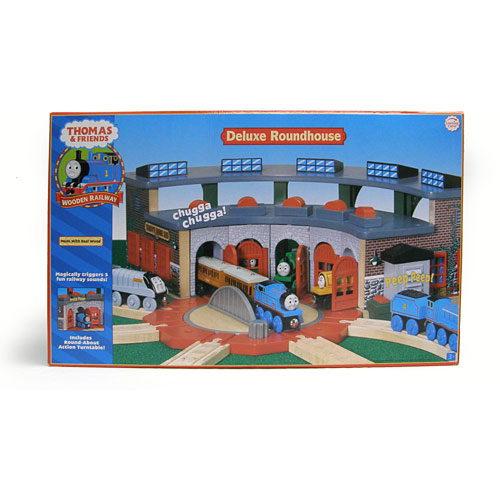 Thomas the Train Sets: Deluxe Roundhouse - A Child's Delight