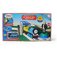 Thomas and Friends: Battery-powered Sir Topham Hatt Figure 8 Set