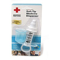 American Red Cross soft Tip Medicine Dispenser