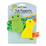 Frog and Duck Tub Puppet