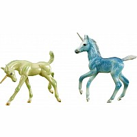 Freedom Series Zoe and Zander Unicorn Foals