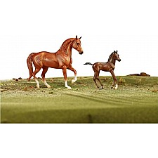 Freedom Series Paso Fno Horse & Foal