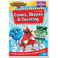Colors, Shapes & Counting DVD